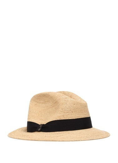 Doria Doria Natural  Bantlı Erkek Fötr Şapka 101523372 Gri